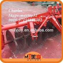 mayjoy 3 conexión punto de arado de disco para la granja motocultivador uso