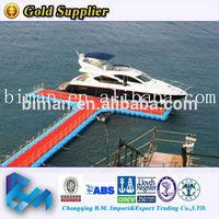 floating docks for drop ship