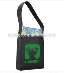 2014 new design fashion messenger bag / promotional tarpaulin messenger bag / cheap messenger for students