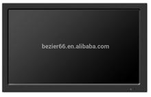 82inch ultra slim inch lcd tv, professional cctv monitor with VGA/DVI/HDMI/USB input