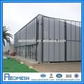 aeomesh liga de alumínio engranzamento expandido do metal chapa de ferro moderno cerca com preço de fábrica