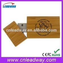 branded usb flash drive wholesale bamboo usb flash drive with engraved logo and free sample 1gb 2gb 4gb 8gb 16gb 32gb