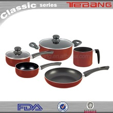 Wholesale products porcelain coated cookware