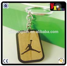 ballet shoe keychain/geocaching/ diamond insert Wooden Keychain/with basketball logo Wooden Keychain