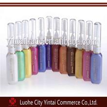 Hot selling 12 colors highlights streaks color hair mascara