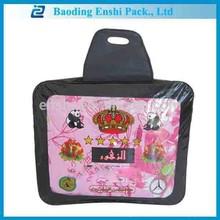 high quality cheap price PVC plastic travel 6kg blanket zipper bag