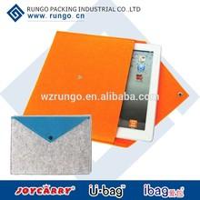 Soft felt Ipad sleeve ipad cover from China