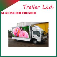 Sunrise LED screen propaganda car advertising vehicle