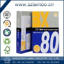 Paper manufacturing company a4 bond paper a4 plain paper