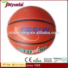 factory basketball with custom logo