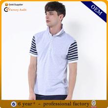 Newest polo shirt cotton elastane