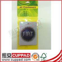 Hanging free shipping promotional paper car air freshener,car fresheners