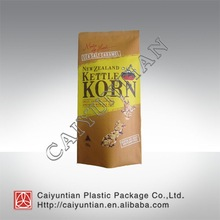 Printing three side heat-seal aluminum foil package bag for popcorn food