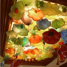 2013 glass blown ceiling lamp