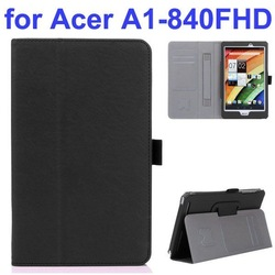 Flip Stand Leather Cover Cases for Acer Iconia A1-840FHD