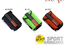 Korean Style Universal Sports Armband Running Case for Smart Phones for Samsung S5 With Reflective Strips & Pen slot