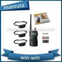 best supplier 1000m remote dog training collar shock remote vibrating dog training collar for 3 dogs
