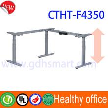 Led furniture & Faetano L shape electric height adjustable desk frame & modern executive office furniture set