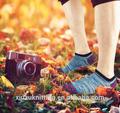 transpirable y cómodo el hombre deporte calcetín calcetín del tobillo con rayas