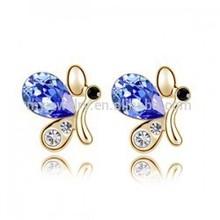 Western imitation jewelry,Crystal earrings designs ,2014 fashion earrings