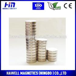 2014 Hot Sale Sintered Rare Earth Neodymium monopole Magnet for Earphone