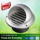 air conditioning wall aluminum mushroom ventilation head