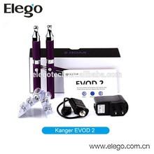 Hot Selling Kangertech EVOD 2 Starter Kit with BDC New Tank EVOD-2 Various Colors Wholesale