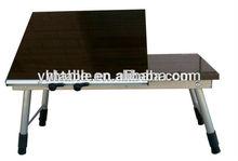 adjustable laptop table/bedroom laptop desk/small size