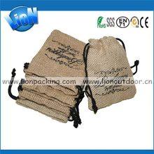 2014 classical oem small burlap bag
