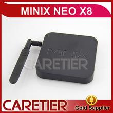 new 2014 Amlogic S802 XBMC MINIX NEO X8 Android TV BOX Max Extended Capacity32G External HDD Video Codecs