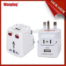 Wonplug Wholesale Lower Price all in 1 international travel