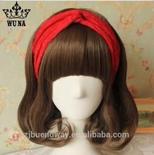 2014 Autumn new design warm Lace with rhinestone headband JHB-001