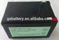 LiFePO4 12V/24V battery packs