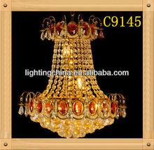ceramic flower crystal lamp e27 italian interiors