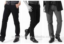 2014 wholesale cotton name brand trousers men professional manufacturer MLS159