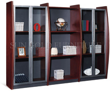 Modern wooden office furniture,office display rack,filing cabinet (SZ-FC013)
