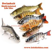 Swim bait hard fishing lure