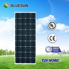 hot sell best price TUV 130w mono panels solar