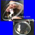 N-bk7 optical glass dome, de gran diámetro 136 mm menisco lente esférica, cúpula para cámara submarina