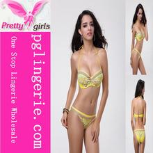 Yellow Ruffle Bathing Suit,Bikini Triangle 2013,Pendant Bikini