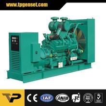 60HZ Open Type 600kw Diesel Generators Powered by Cummins