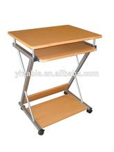Hot sale office computer desk/ Melamine student computer desk