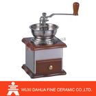 Dishwaser safe coffee mill Ceramic Burr coffee grinder