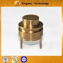Copper cnc machining high precision parts , custom service