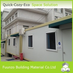 Sandwich Panel Green Demountable Movable Prefab Office Container
