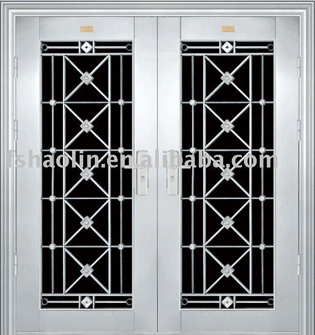 Double Leaf Stainless Steel Grill Door Design Jh314 Buy