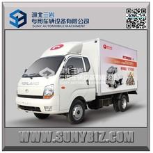 1ton Diesel mini pickup van truck mini van truck forland mini truck