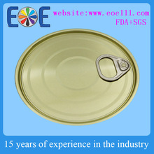 603 metal can lid 153.4mm tin lid for canned sailfish