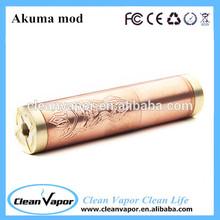 Alibaba express copper mechanical mod copper akuma mod /akuma mod/black akuma mod