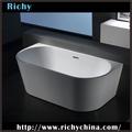 piccole dimensioni freestanding vasca da bagno in acrilico